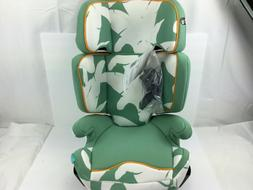 Aidia Explorer 2-in-1 Safety Booster Car Seat, Green/White w