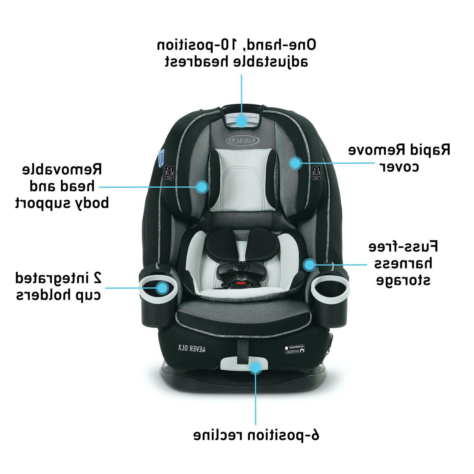 Graco DLX 4-in-1 Seat Bryant Gray