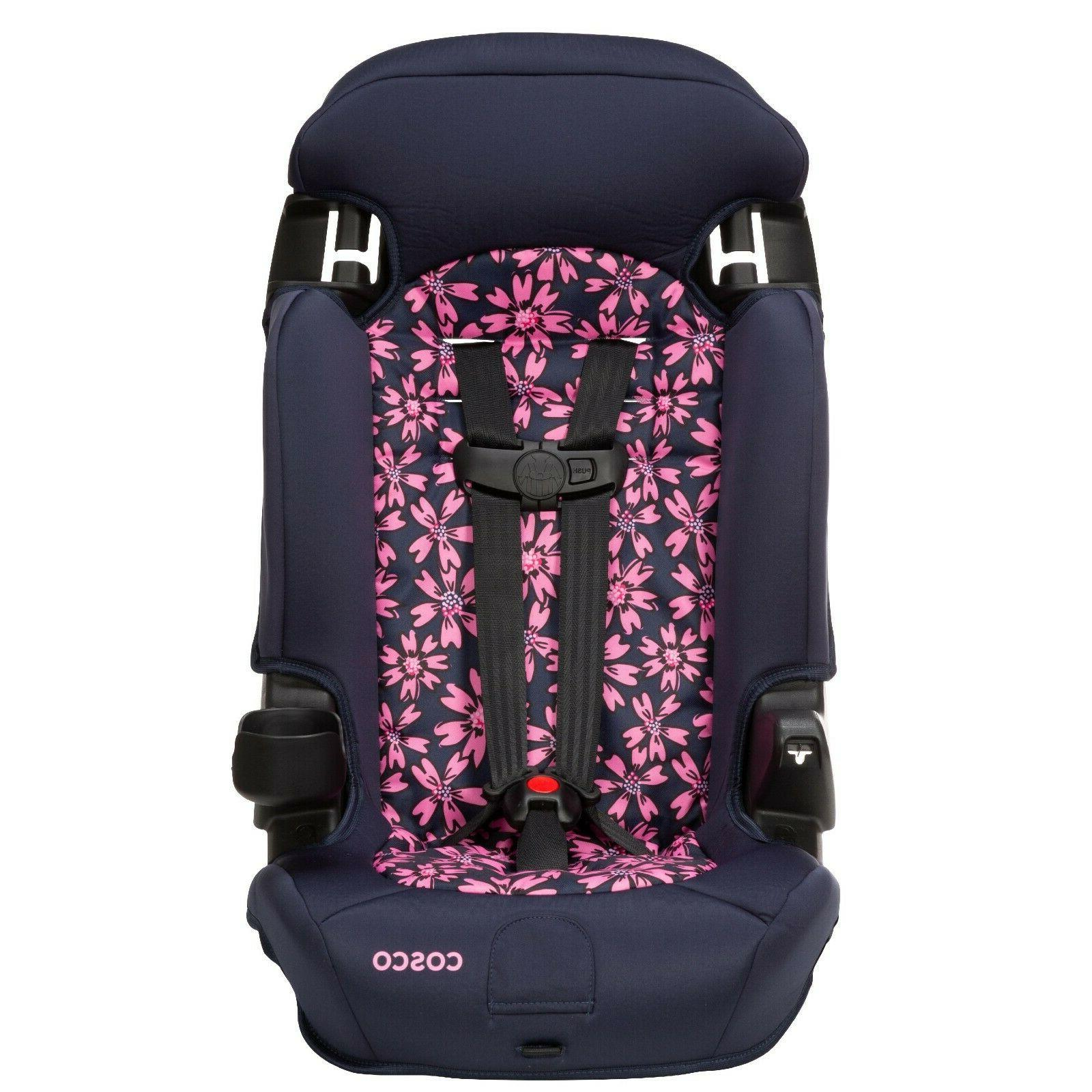 Convertible Car Booster 2 1 Baby Toddler Travel Chair Car