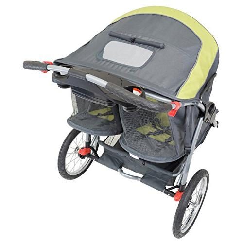 Baby Expedition Swivel Double Stroller