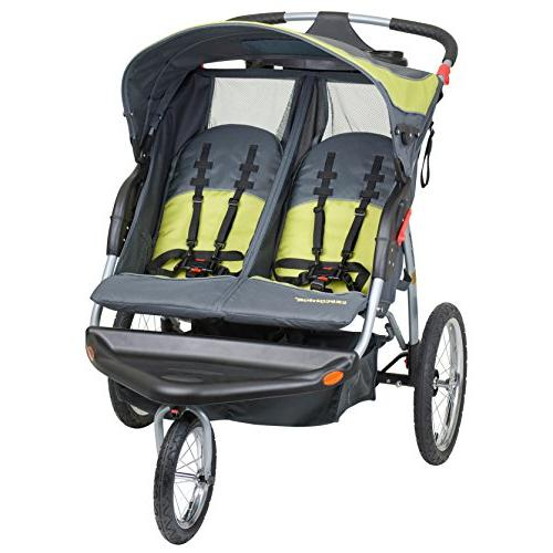 expedition swivel double jogger jogging