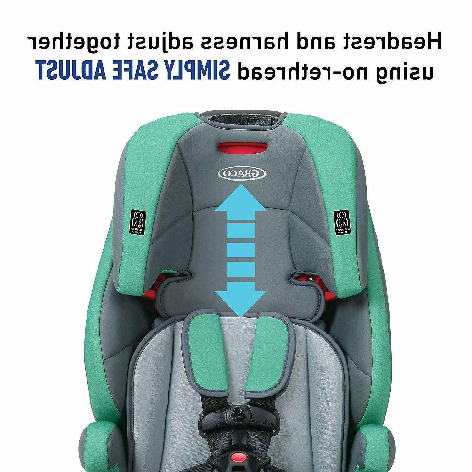 New Graco in 1 Harness Booster Seat, Basin