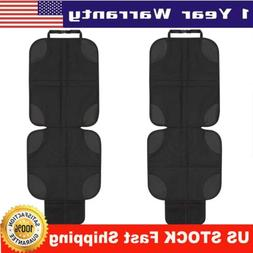 NEW Car Seat Protector Cover 2 Pack Black 2019 Deluxe Model