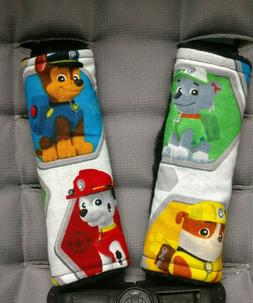 Paw Patrol Car Seat Strap Covers Chase Rubble Rocky Marshall