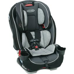 Graco SlimFit All-in-One Convertible Car Seat, Darcie Gray -